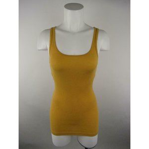 Mossimo Supply Co Cotton Spandex Ribbed Tank Top